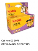 Kodak GOLD 200  GB 135-24      3-Pack