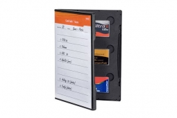Gepe Card Safe Store CF black