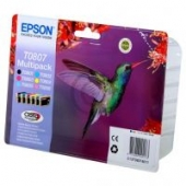 Epson Claria Ink T0807 Multipack