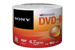Sony 50 DVD-R 4.7GB 16x BULK
