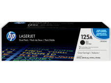 HP 125A Toner, black Twin