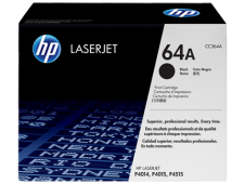 HP 64A Toner Cartridge, black