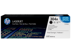 HP 304A Toner 2 x Cartridge, black