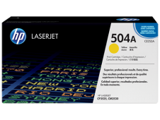 HP 504A Toner, yellow, 7'000 pages