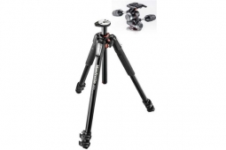 Manfrotto 055XPRO3 Alu + X-Pro Neiger