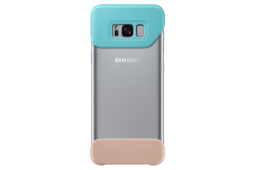 Samsung 2Piece Cover S8+ mint & brown