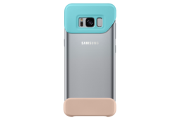 Samsung 2Piece Cover S8 mint & brown