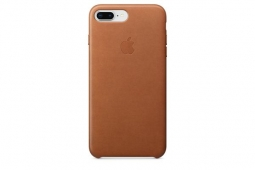 Apple Leather Case iPhone 8+/7+ S.brown