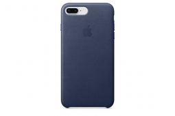 Apple Leather Case iPhone 8+/7+ m.blue
