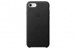 Apple Leather Case iPhone 8/7 black