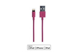 Spada Ladekabel Lightning Apple 1m pink