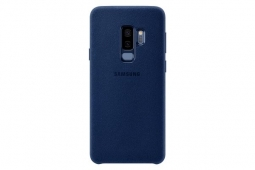 Samsung Alcantara Cover S9 Plus blue